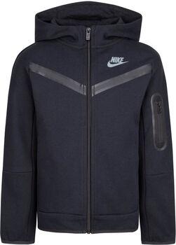 Nike Sportswear Fleece Full Zip kids hoodie Jongens Zwart