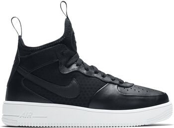 Nike Air Force 1 Ultraforce Mid Dames Zwart