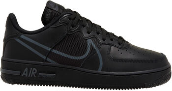 Nike Air Force 1 React sneakers Heren Zwart