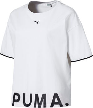 Puma Chase Cotton shirt Dames Wit
