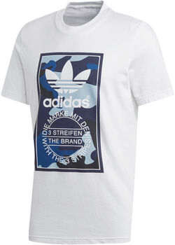 adidas Camo shirt Heren Wit