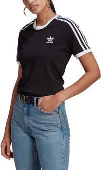 adidas Adicolor Classics 3-Stripes T-shirt Dames Zwart