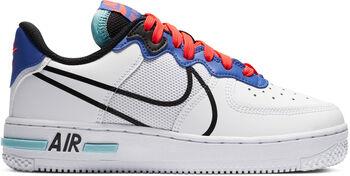 Nike Air Force 1 React kids sneakers Jongens Wit