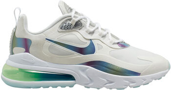 Nike Air Max 270 React Bubble Pack sneakers Heren Wit