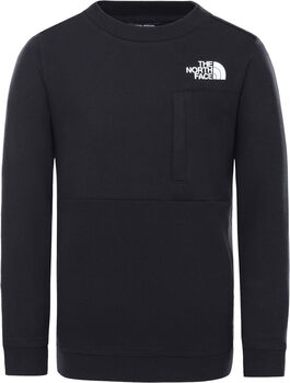 The North Face Slacker Crew sweater Jongens Zwart