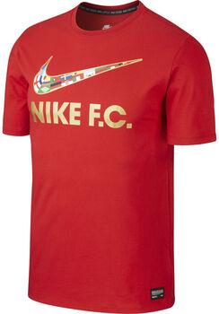 Nike FC Swoosh shirt Heren Rood