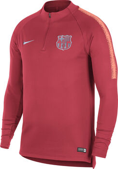 Nike FC Barcelona Dry Squad Drill shirt Heren Rood