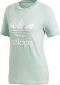 adidas Trefoil t-shirt Dames Groen