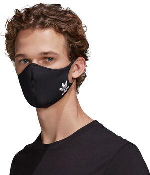 adidas Mondkapjes XS/S 3 paar Zwart