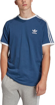 adidas 3-Stripes t-shirt Heren Blauw