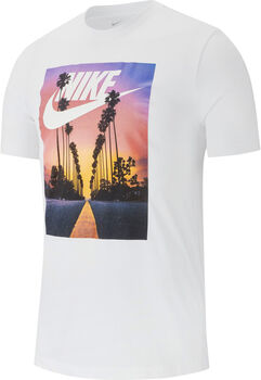 Nike Sportswear Sunset Palm shirt Heren Wit