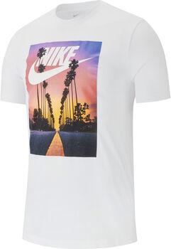 Nike Sportswear Sunset Palm shirt Heren Wit
