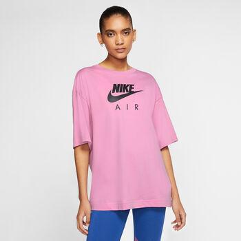 Nike Air t-shirt Dames Rood