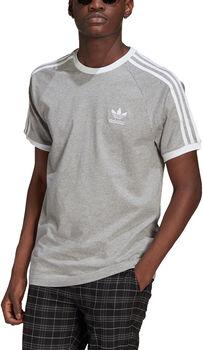 adidas Adicolor Classics 3-Stripes T-shirt Heren Grijs