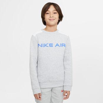 Nike Sportswear Air Crew sweater Grijs