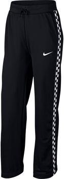 Nike Sportswear Crop Wide Leg broek Dames Zwart