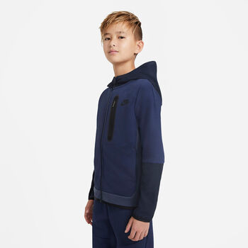 Nike Sportswear Tech Fleece kids sweater Jongens Blauw