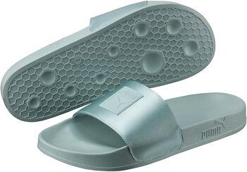 Puma Leadcat Satin slippers Dames Blauw
