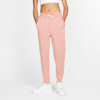 Nike Sportswear Tech Fleece broek Dames Rood