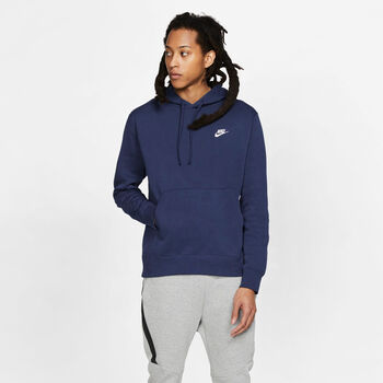 Nike Sportswear Club Fleece hoodie Heren Blauw