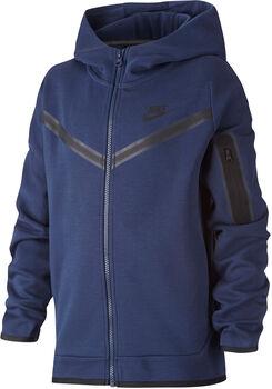 Nike Sportswear Tech kids fleece hoodie Jongens Blauw