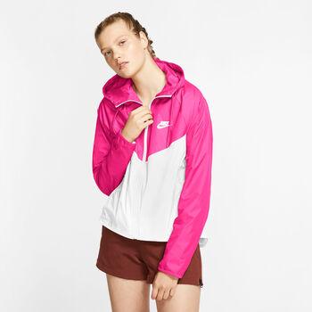 Nike Sportswear Windrunner jack Dames Roze