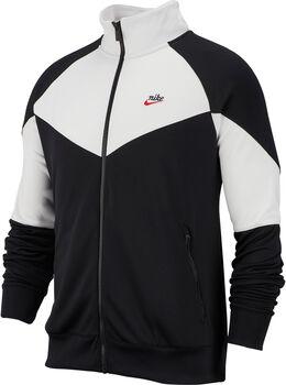 Nike Sportswear Heritage jack Heren Zwart