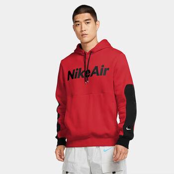 Nike Air Fleece Pullover hoodie Heren Rood
