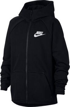 Nike Sportswear Tech Fleece hoodie Jongens Zwart