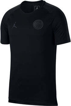 Nike Paris Saint Germain Breathe Squad shirt Heren Zwart