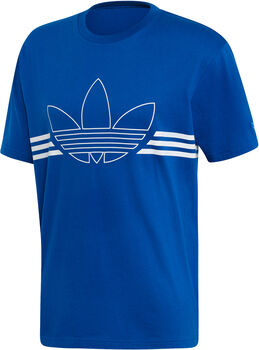 adidas Outline shirt Heren Blauw