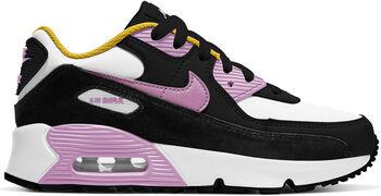 Nike Air Max 90 Leather kids sneakers Zwart