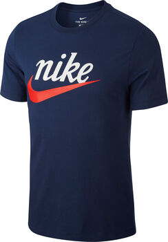 Nike Sportswear  T-Shirt Heren Blauw