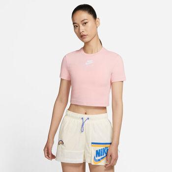 Nike Air croptop Dames Roze