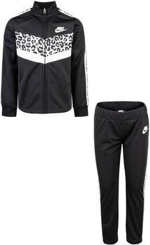 Nike Chevron Tricot kids set Meisjes Zwart