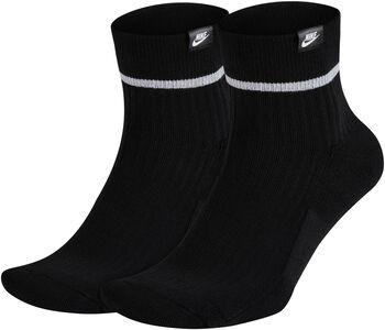 Nike Sneaker Sox Essential enkelsokken (2 paar) Heren Zwart