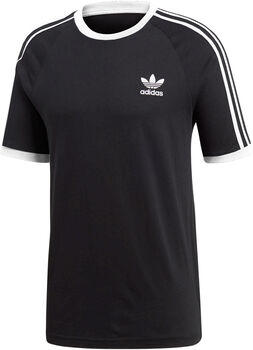 adidas 3-Stripes t-shirt Heren Zwart