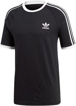 ADIDAS 3-Stripes t-shirt Heren Zwart
