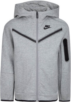 Nike Sportswear Fleece Full Zip kids hoodie Jongens Grijs
