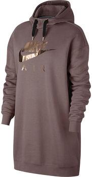 Nike Sportswear Air hoodie Dames Bruin