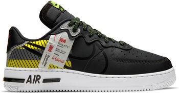 Nike Air Force 1 React 3M sneakers Heren Zwart