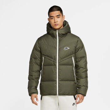 Nike Sportswear Down-Fill Windrunner jack Heren Groen