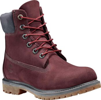 Timberland 6inch Premium Boot Dames Rood