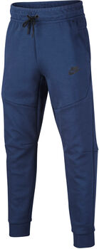 Nike Sportswear Tech kids fleece joggingsbroek Jongens Blauw