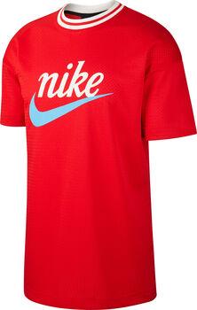Nike Sportswear Mesh shirt Heren Rood