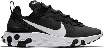 Nike React Element 55 sneakers Dames Zwart