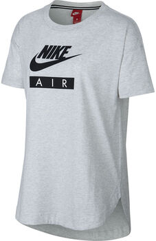 Nike Sportswear Top Logo Air Dames Zwart