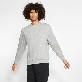 Nike Sportswear Club sweater Heren Grijs