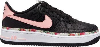 Nike Air Force 1 Vintage Floral sneakers Meisjes Zwart