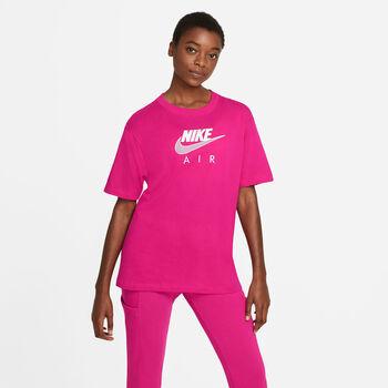 Nike Sportswear Air t-shirt Dames Rood